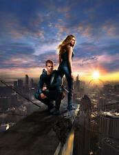 DIVERGENT TEXTLESS MOVIE POSTER FILM A4 A3 ART PRINT CINEMA
