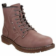 Mens Travis Lace Up Ankle Boots