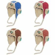 Childrens Boys G. Robot Quilted Winter Trapper Hat