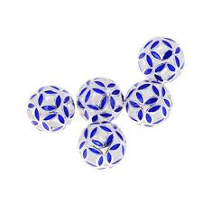5pcs Cloisonne Enamel Round Spacer Loose Bead Jewelry Finding 10mm/12mm/14mm