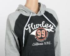 *NEW**HURLEY** grey/black hooded jumper ~ladies S, M, L, XL