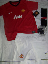 Nike Boys Manchester United Soccer Jersey Set NWT