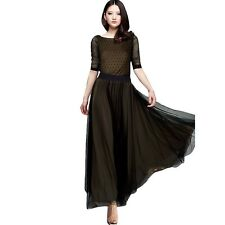 Formal Office Long Maxi Dress Fashion Evening Party Cocktail Wedding Dress
