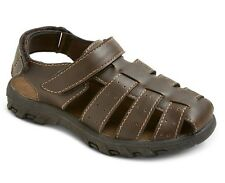 Circo® Toddler Little Boys Brown Damian Fisherman Sport Hiker Sandals - NEW