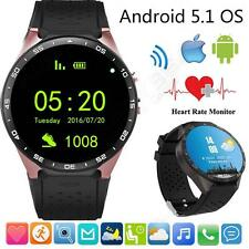 """""""New Wifi GPS Smart Wrist Watch SIM Phone Mate Bluetooth Camera For iOS Android"""