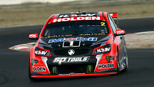 Garth Tander 2016 6x4 or 8x12 photo V8 Supercars HOLDEN HRT TOLL MONSTER HSV