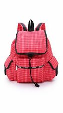 NWT Lesportsac LeSportsac Voyager Backpack Tattersall Red $118
