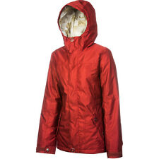 Women Foursquare Artisan Snowboard/Ski Jacket $180 holden ride 686 dc bonfire