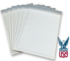"""Size #4 - 9.5""""x13.5"""" Kraft White Bubble Mailers (SHIPS TODAY)"""