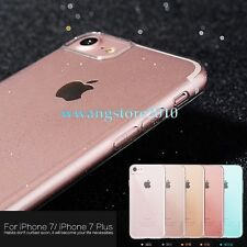 Soft Transparent TPU Bling Back Protective Case Cover for Apple iPhone 7/7 Plus