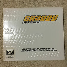 SHAGGY - HOT SHOT CD _Set 2 CD Bonus Disc Tour Edition _Disc Very Good.