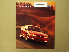 1998  Ford  Mustang  Auto Brochure (  Mint Condition )