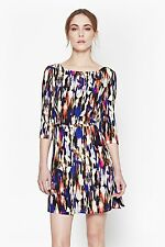 BNWT FRENCH CONNECTION RECORD RIPPLE DRAPE DRESS - RRP £120 - NOW £59!!