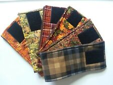 3 Dog Belly Bands, FALL PATTERNS Male Dog Diaper, Clothes,Training,Housebreaking