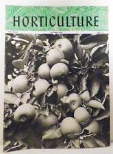 Horticulture Magazine October 1950 Wild Herbs Canadian Apples Climbing Lily