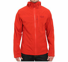 MOUNTAIN HARDWEAR MENS S-M-L-STRETCH OZONIC JACKET DRY Q ACTIVE WATERPROOF NWT