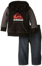 Quiksilver Infant Boys Pull Over Hoodie 2pc Pant Set Size 12M 18M 24M $44.50