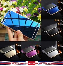 Mirror Effect Tempered Glass Screen Protector Cover iPhone 5 5S 6 6S+