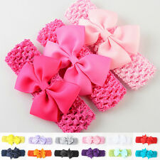 Baby Kids Girls Toddler Lace Bowknot Headband Hairband Headwear Accessories New