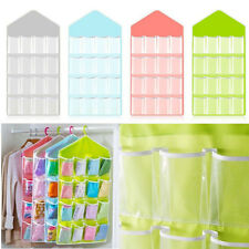 16 Pocket Over the Door Shoe Organizer Space Saver Rack Hanging Storage Hanger