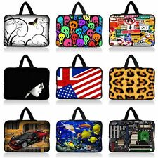 "13"" 13.3"" Colorful Neoprene Netbook Case Laptop Sleeve Bag Cover With Handle New"