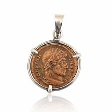 sterling silver ancient coin pendants, ancient roman coin pendants