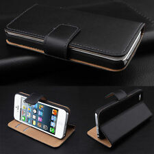 Leather Synthetic Wallet Stand Case Cover Sony Ericsson Xperia Z5 Z4 Z3 M4 E5