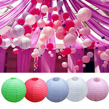 """Wedding Party Engagement Decora Round Chinese Paper Lantern 8"""" 10"""" 12"""" Cheaply"""