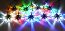 8 LED Chaser Beacon PIC Microcontroller Light Flash Show - 8x 5mm LEDs