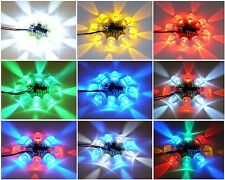 8 LED Chaser Beacon PIC Microcontroller Light Flash Show - 8x 10mm LEDs