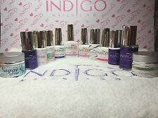 INDIGO NAILS LAB Gel Polish Base and Top, Dry Top, Shine on, Protein Base&more