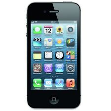 APPLE iPHONE 4S 32GB BLACK - Unlocked - FAULTY SELFIE CAMERA - Smartphone Mobile