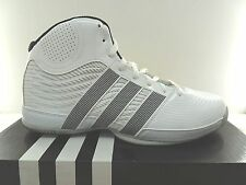 New Adidas Commander Lite TD 4 White Mens Basketball Shoes Size 11.5