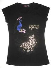 **NEW**ROXY**black tshirt- sz ladies 8, 10