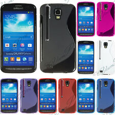 silicone cover gel Samsung i9295 Galaxy S4 Active SGH-I537 LTE