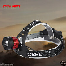 5000 LM CREE XM-L XML T6 LED 18650 Headlamp Headlight Flashlight Head Light Lamp