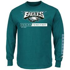 Primary Receiver Philadelphia Eagles Long Sleeve T-Shirt