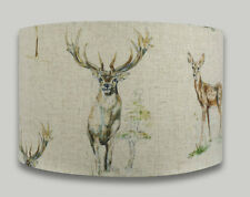 Stag Deer Country Drum Lampshade lightshade lamp shade 30cm 35cm 40cm