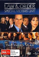 Law And Order SVU : SEASON 3 : NEW DVD