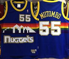 DIKEMBE MUTOMBO DENVER NUGGETS HARDWOOD CLASSICS THROWBACK AUSTRALIA JERSEY NEW