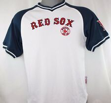 NEW Youth Kids boys STITCHES Boston RED SOX White Stitched MLB Pullover Jersey