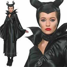 Adults Womens Official Licensed Disney Maleficent Fancy Dress Halloween Costume