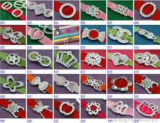 Selections of Acrylic Ribbon Buckle Sliders - Gift Wrapping, Party Card Invite