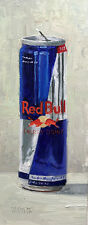 12 oz. Red Bull, Craig Stephens Original Daily Painting