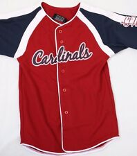 NEW Boys Youth Kids STITCHES St Louis CARDINALS Red MLB Baseball style Jersey