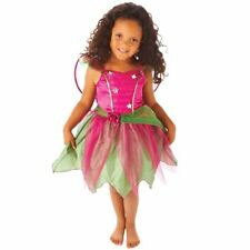 Book Week up to 6 Years Girls Fairy Costume Party Dress Pink Petal Flower Wings