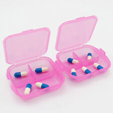 Double Layer Pill Medicine Box Storage Jewelry Organizer Container Case New