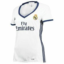 adidas Womens Ladies Football Soccer Real Madrid Home Shirt Jersey 2016-17