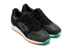 ASICS GEL LYTE III MIAMI BLACK GREY SIZE UK 6 EU 39 SAGA GT-II RONNIE FIEG
