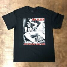 GG Allin You Give Love A Bad Name Shirt Punk NYHC CBGBs NOFX